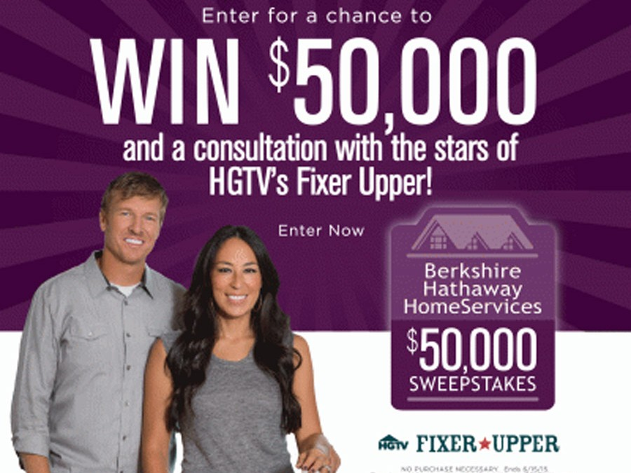 HGTV $50,000 Sweepstakes