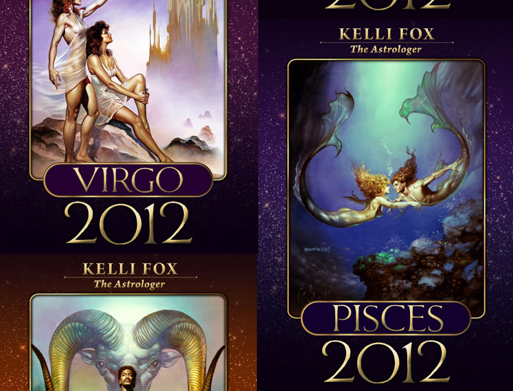 Horoscope eBook Covers